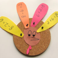 Math Fact Families Turkeys