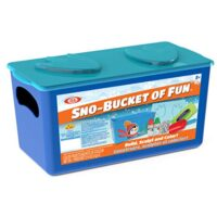 Ideal SNO Bucket of Fun Kit Kids Outdoor Snow Activity