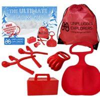 Unplugged Explorers 6 pc. Ultimate Snow Toys Kit
