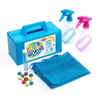 Color My Worlds Sand and Snow Coloring Kit Snow Toy