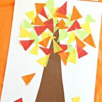 Fall Tree Math Craft