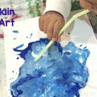 Wind & Rain Process Art