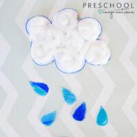 Rain Cloud Suncatcher Craft