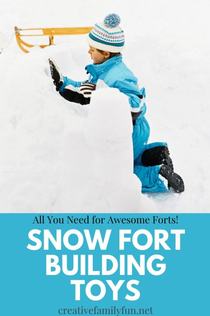 All the awesome snow fort building toys you need to make the most amazing snow structures.