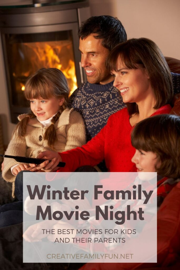 The best family friendly movies for a winter movie night.