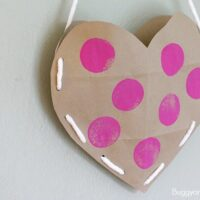 Heart Valentine Holder