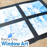 Rainy Day Window Art