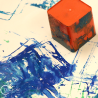 Toddler Square Art Activity
