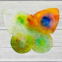 Butterfly Rain Art