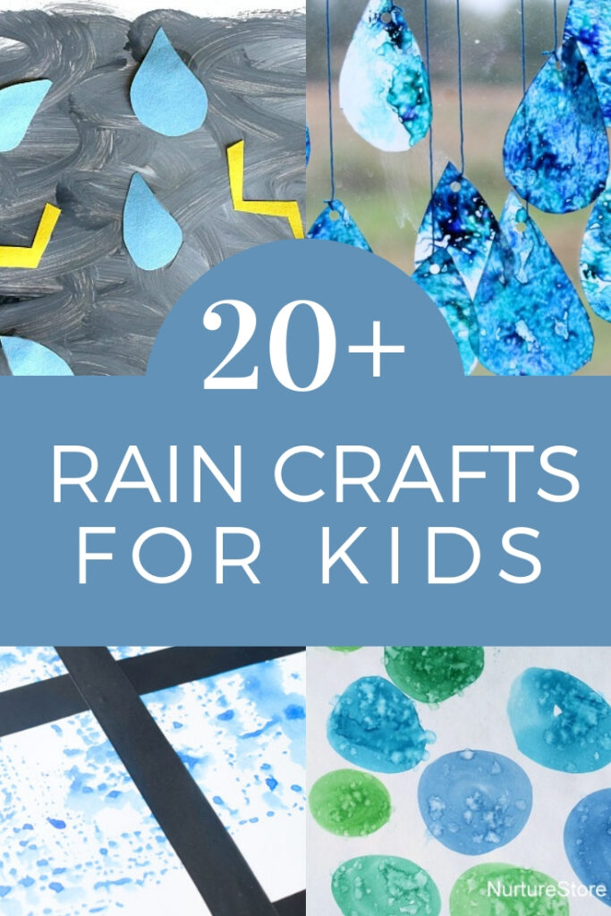 Fun Raindrop Crafts for Kids