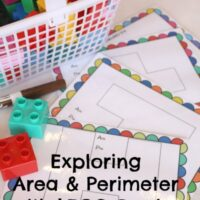 Learn Area and Perimeter Using LEGOs