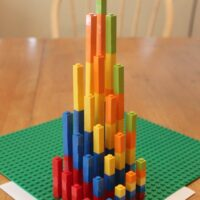 Hands-on Multiplication with Legos (A 3-D Graph!)