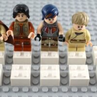 Ways to Make Ten with LEGO Minifigures